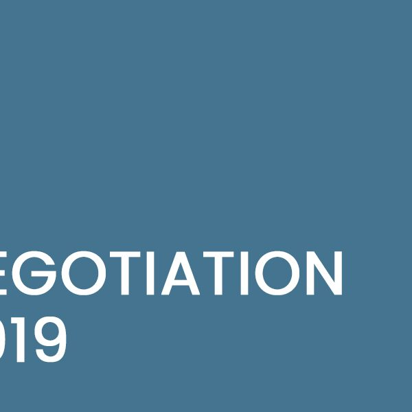 Claire Smith on Negotiation in 2019